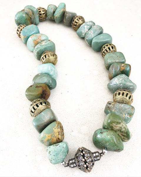 Turquoise Ghana Necklace