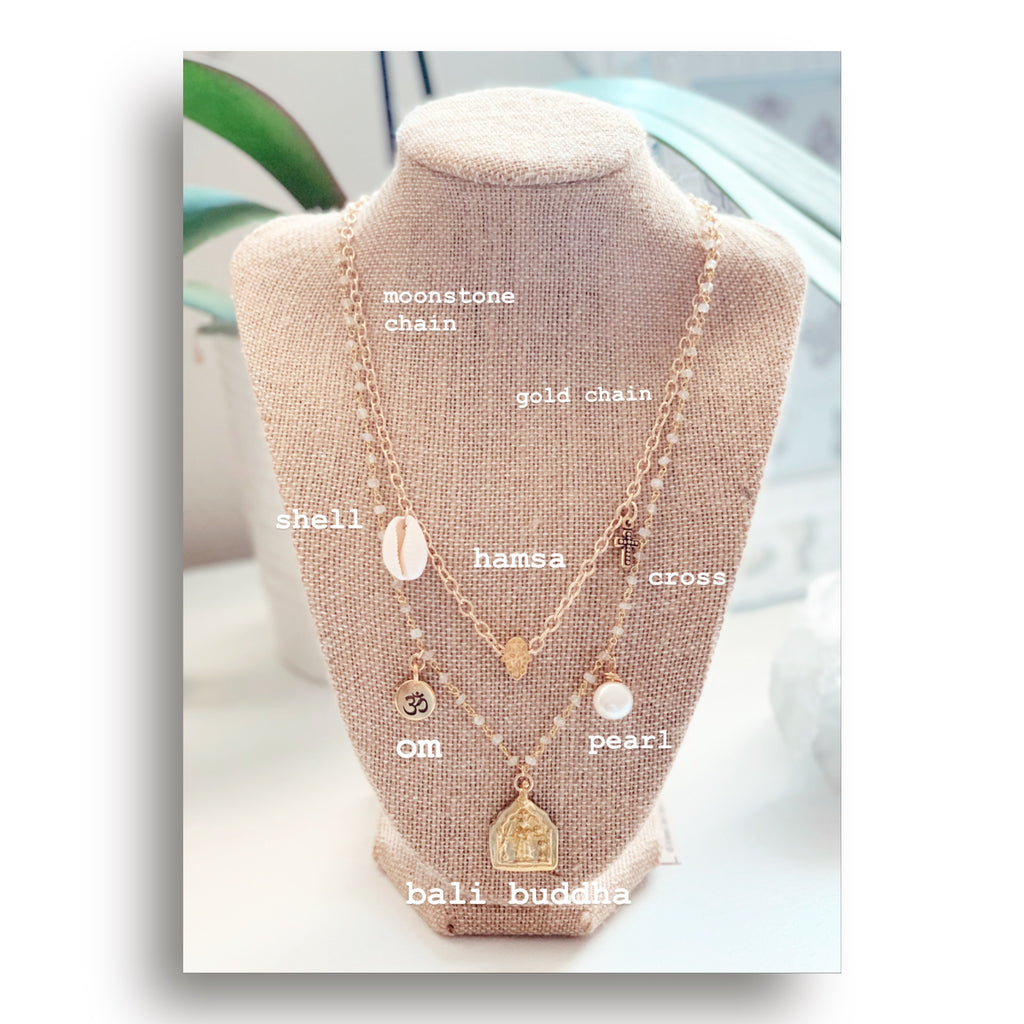 heather matjasic ohm jewelry shop naples florida gold silver chain necklace charm necklace