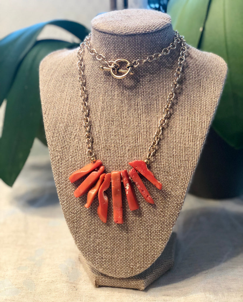 heather matjasic ohm jewelry shop bamboo coral gold necklace naples florida
