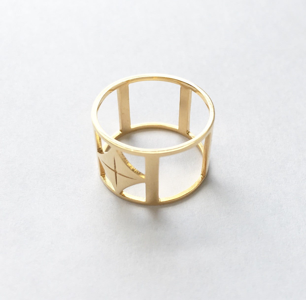 heather matjasic ohm jewelry ohmjewelryshop o.h.m. gold ring 18k gold plated 14k gold