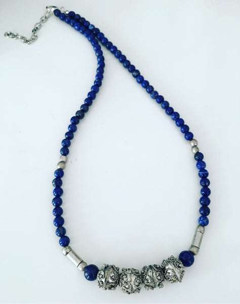 lapis lazuli turkish beads ohm jewelry shop heather matjasic