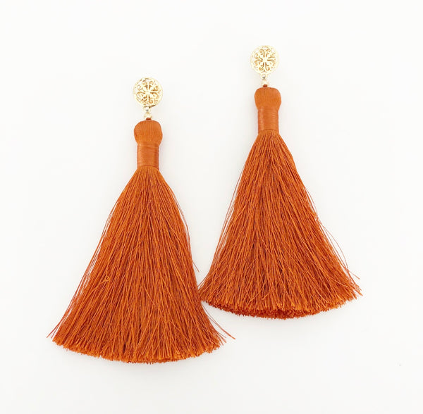 heather matjasic ohm jewelry shop gold earrings tassels naples florida