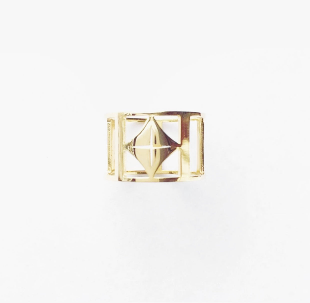 O.H.M. Classic Ring (18k Gold-Plated)