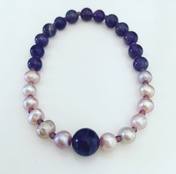 heather matjasic ohm jewelry shop pink pearls amethyst