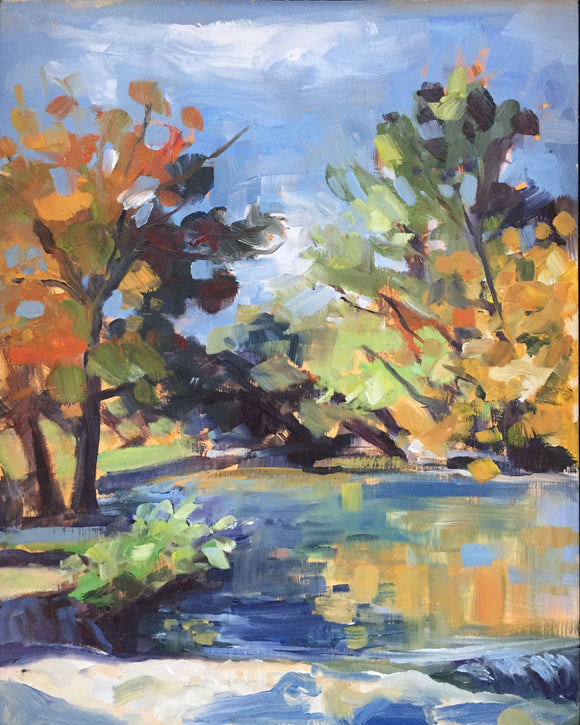 Brushy Creek in Autumn
