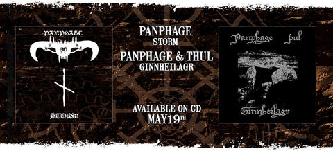 Panphage Reissues available in the US for Pre-Order!