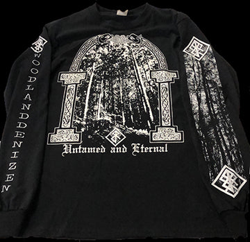Bindrune Recordings - Untamed and Eternal Shirt Design
