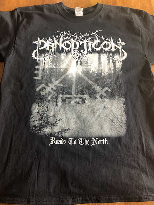 Panopticon - Roads to the North T-Shirt Design