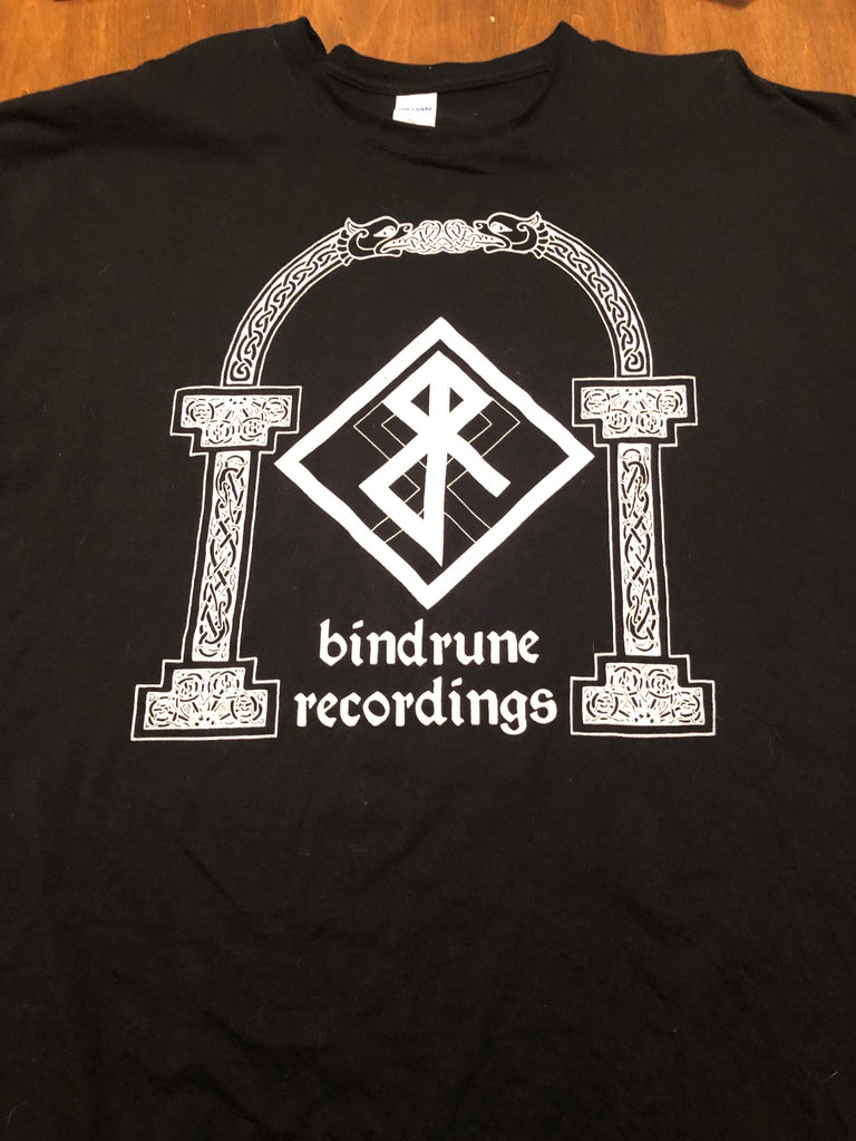 Bindrune Recordings Logo Arch T-Shirt