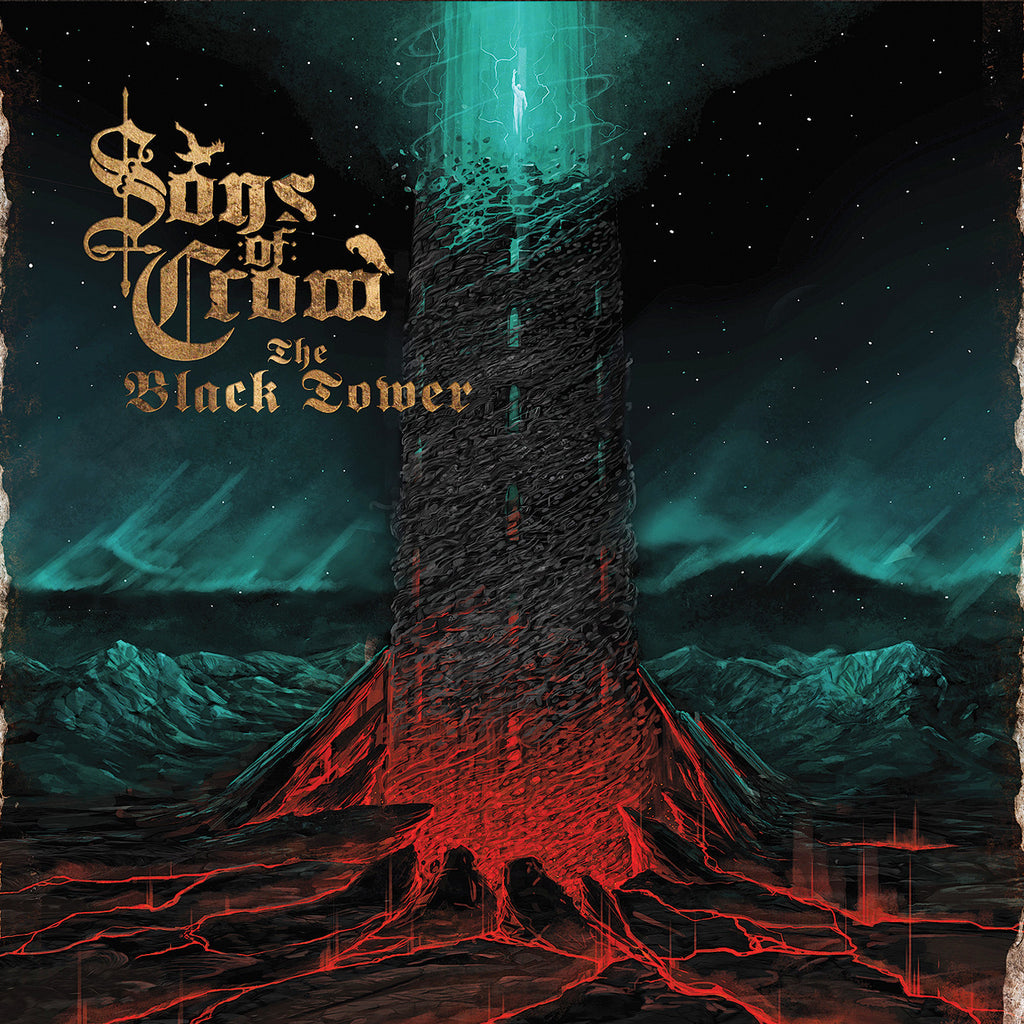 Sons of Crom (Fin) - The Black Tower LP (Colored Vinyl)