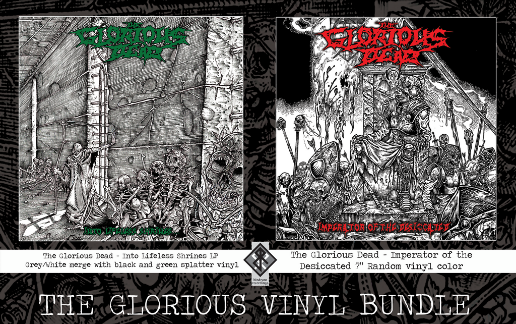 The Glorious Dead LP Bundle