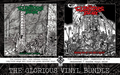 The Glorious Dead LP Bundle (Pre-Order)