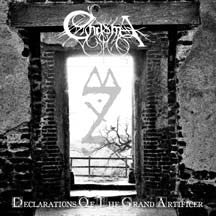Chasma (US) - Declarations of the Grand Artificer CD