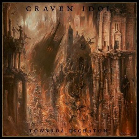 Craven Idol (UK) - Towards Eschaton Gatefold LP