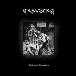 Gravsorg (Den) - Visions of Depression CD