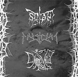 Sinah (Ukr) / Angelgoat (Ser) / Charnel Valley (US) - 3 way Split CDr