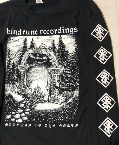 Bindrune Recordings - Gateways to the North Long Sleeve