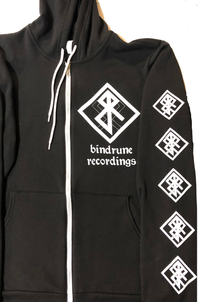 Bindrune Recordings - Gateways to the North Zip Hoodie