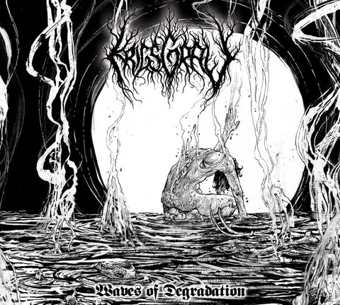 Krigsgrav (US) - Waves of Degradation Digipak CD