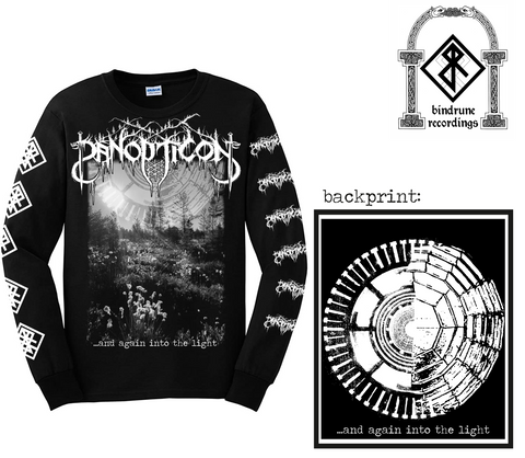 Panopticon - And Again Into the Light Long Sleeve Shirt Design Pre-Order