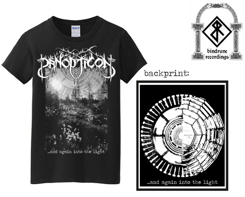 Panopticon - And Again Into the Light Shirt Design Pre-Order
