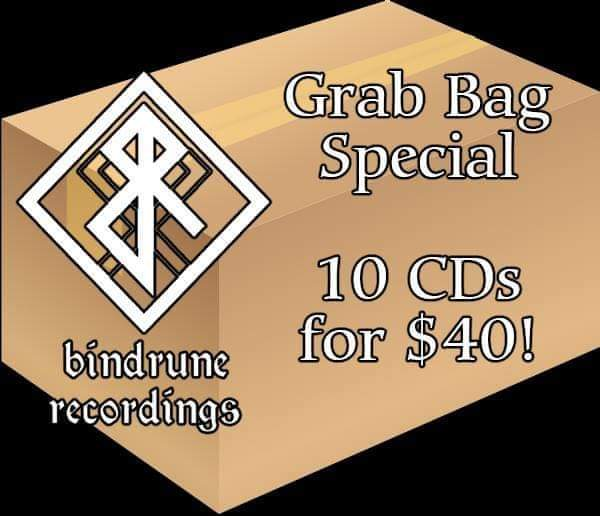 Bindrune Title, 10 CD Grab Bag Special! (Limited time)