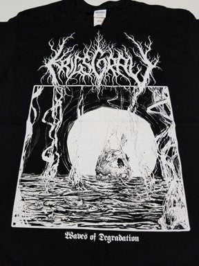 Krigsgrav - Waves of Degradation Shirt