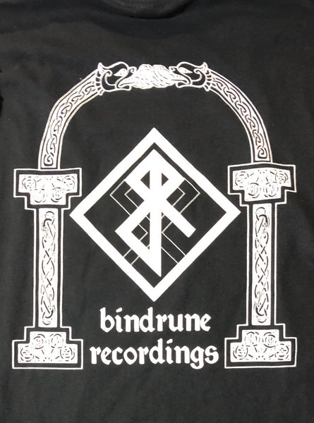 Bindrune Recordings - Gateways to the North t-shirt