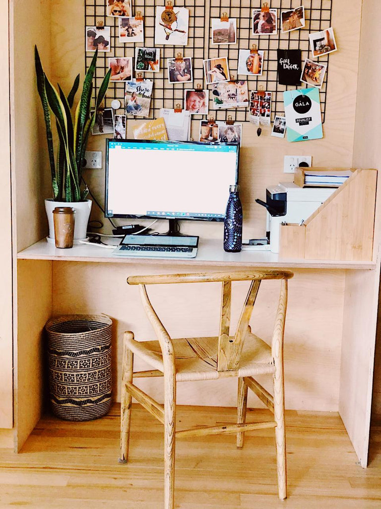 How to set up a functional and beautiful office space at home