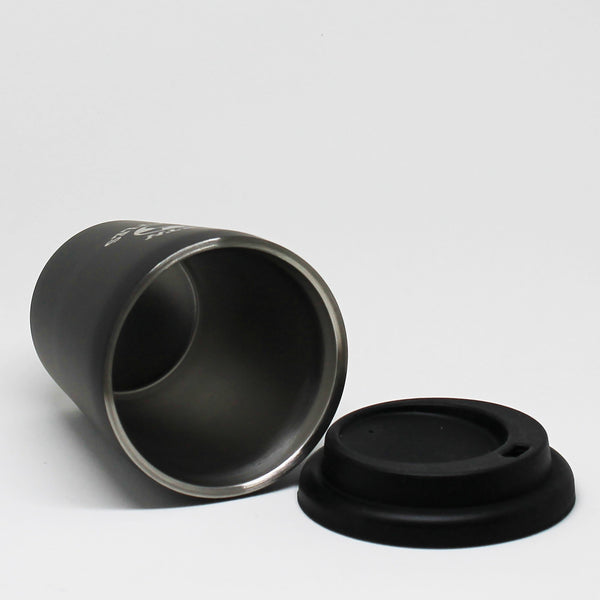 Coffee Nut 10oz Travel Cup - Matte Black