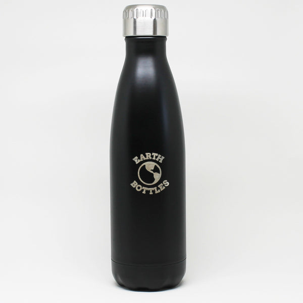 Earth Bottle Matte Black