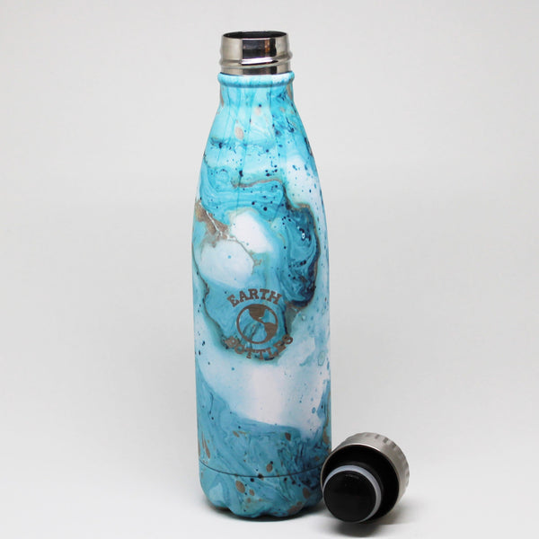 Earth Bottle Clean Ocean - Blue Marble