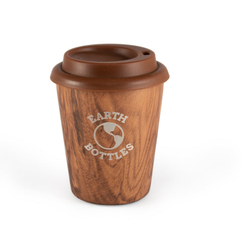 Coffee Nut 10oz Travel Cup - Pale Timber -WAREHOUSE SALE