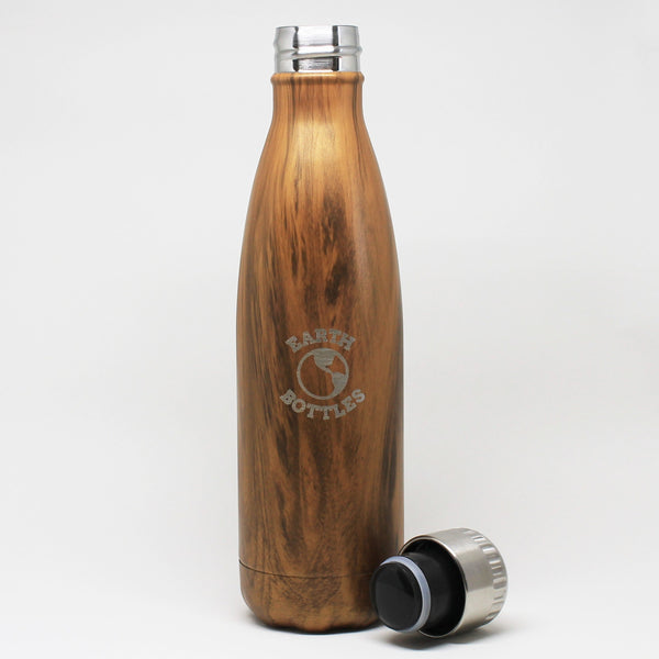 Earth Bottle Faux Timber - Pale