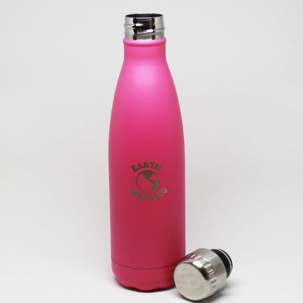 Earth Bottles stainless steel  Dusty Pink - 500ml and 750ml