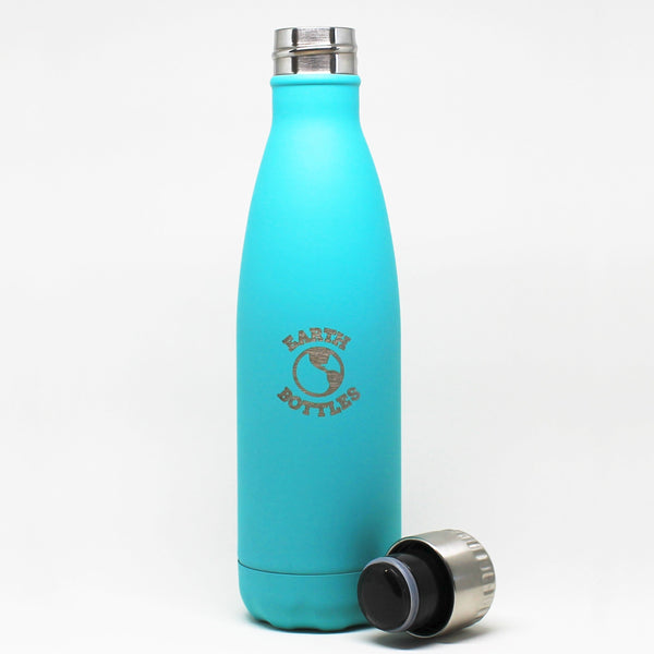 Earth Bottle stainless steel  Turquoise - 500ml