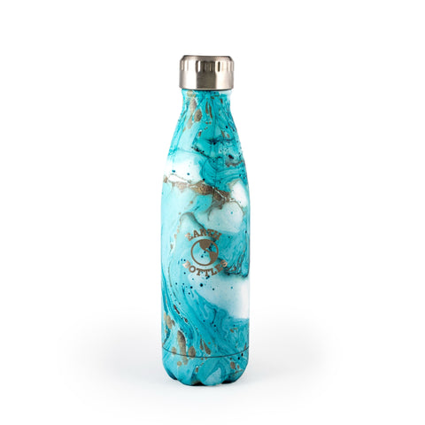 Earth Bottles stainless steel Clean Ocean - Blue Marble - 500ml and 750ml