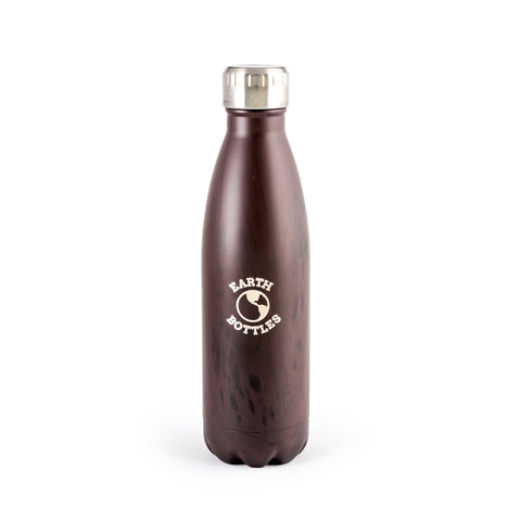 Earth Bottle Faux Timber - Ebony