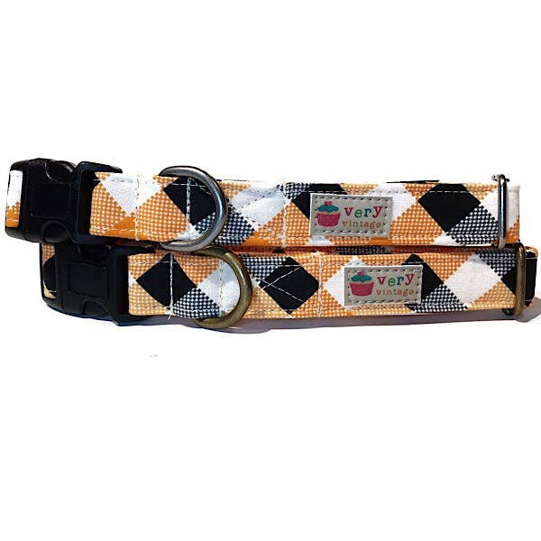 Very Vintage Designs - The Vincent - Organic Cotton Pet (Dog & Cat) Collar