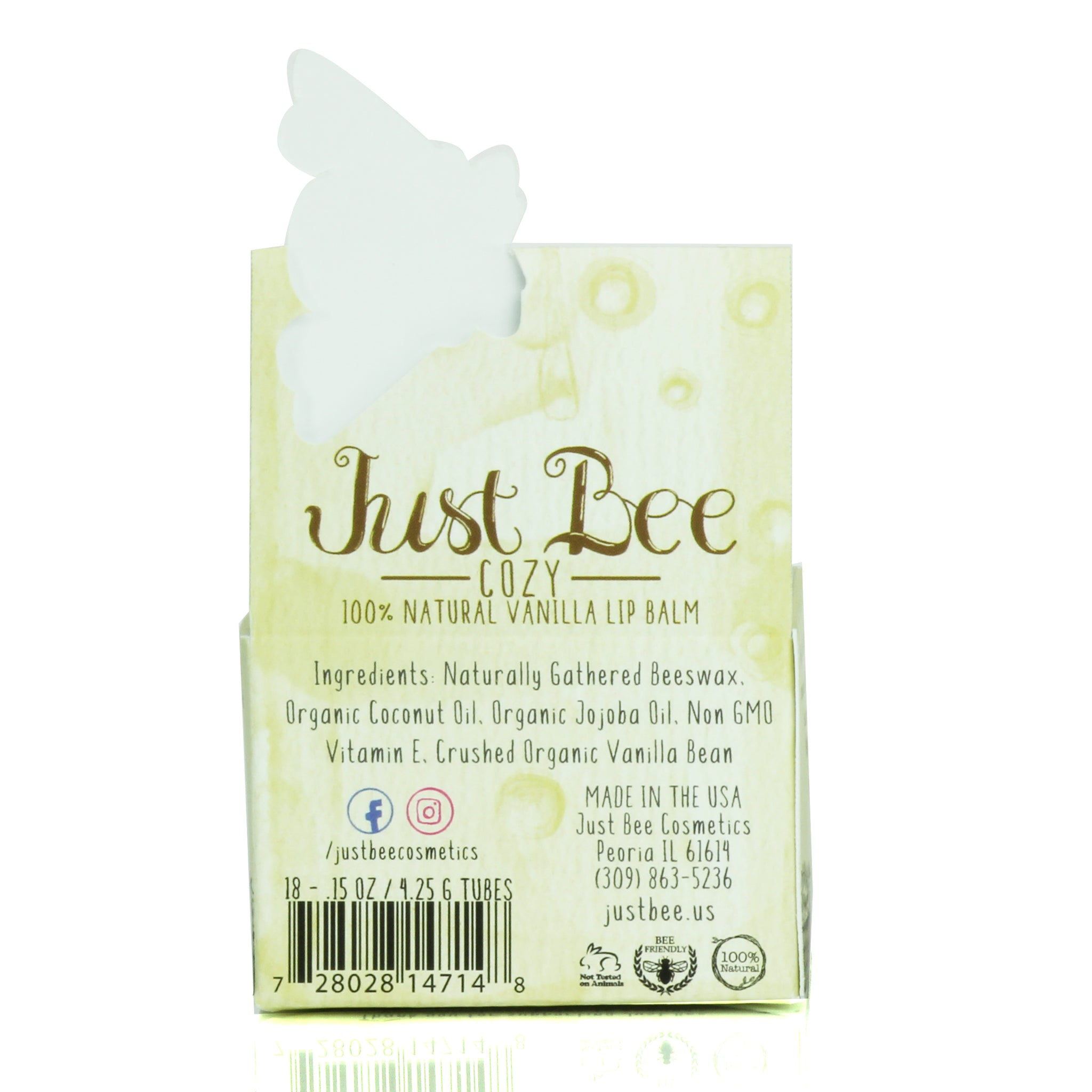 Just Bee Cosmetics - Just Bee Cozy - Vanilla