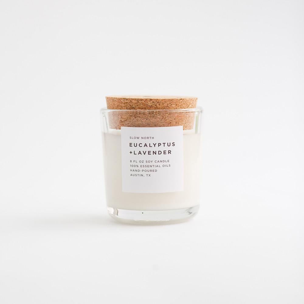 Slow North - Tumbler Candles | Eucalyptus + Lavender (8 oz. )