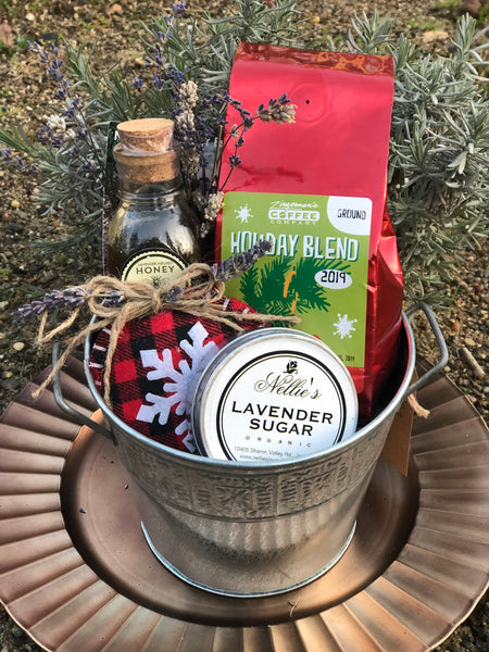 Christmas Morning Coffee Basket - Seasonal