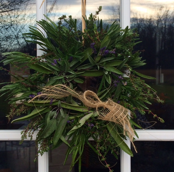Thanksgiving Fresh Herbal Wreath Class - Nov. 20th