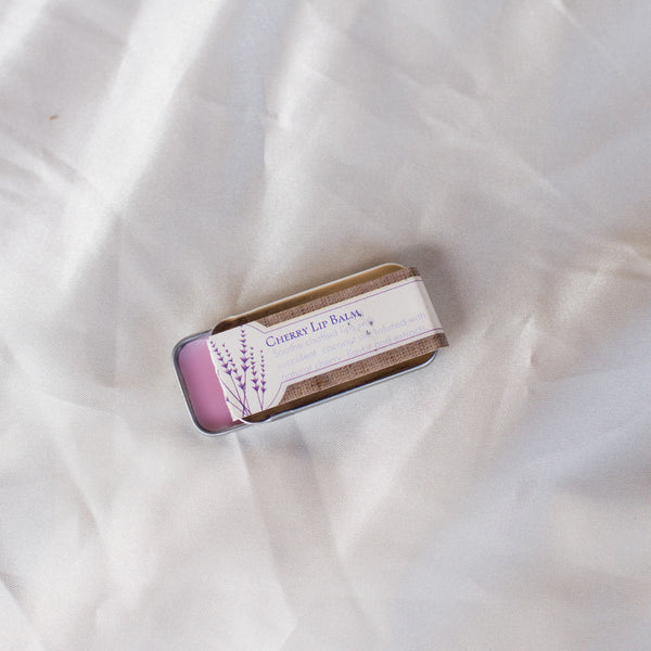 Lavender Infused Cherry Lip Balm