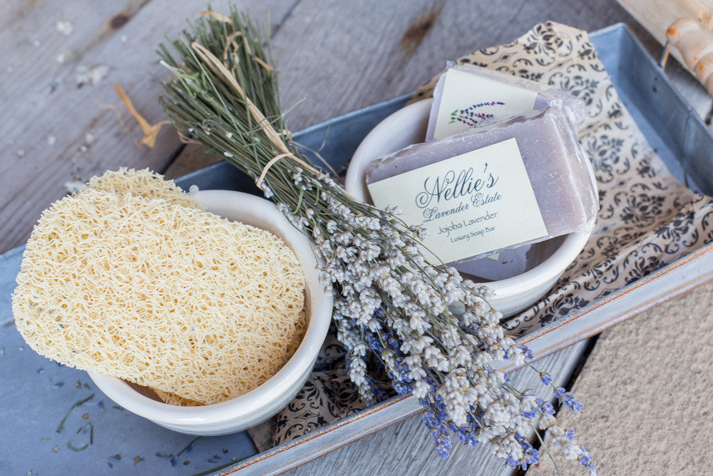 Jojoba Lavender Spa Soap Bar