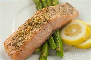 Herbes de Provence Baked Salmon with Asparagus