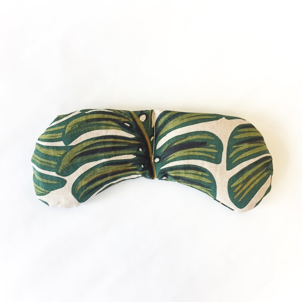 Slow North - Eye Mask Therapy Pack - Monstera Leaf