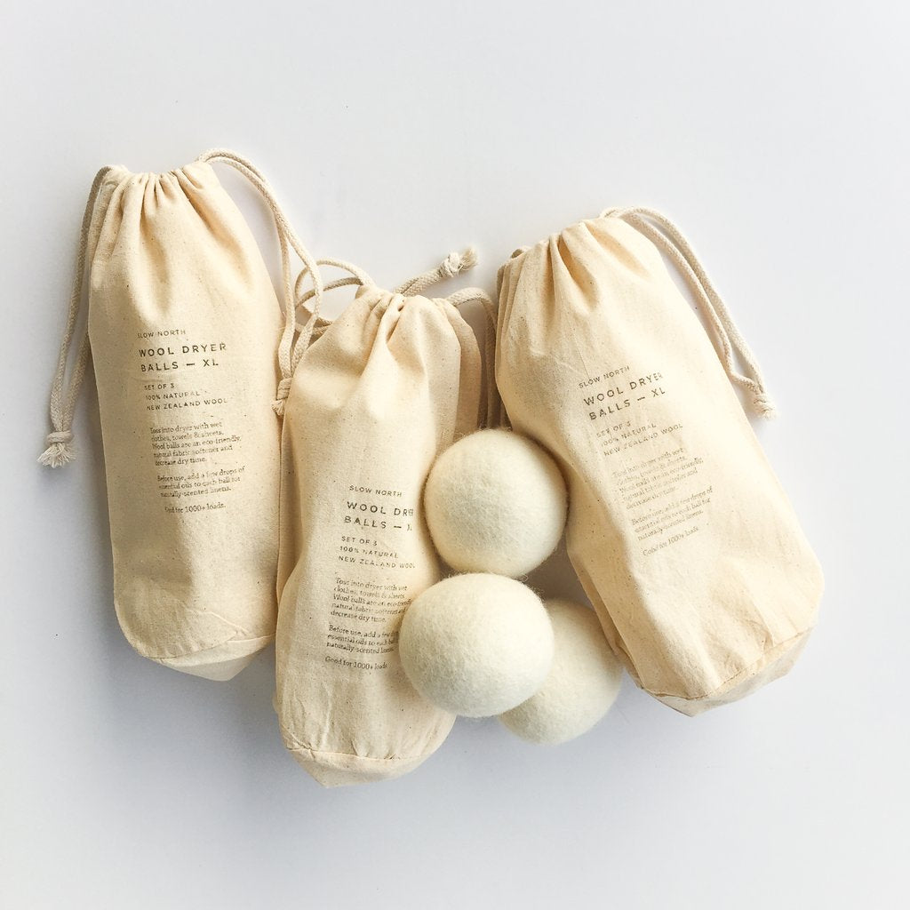Slow North - Wool Dryer Balls - Set of 3