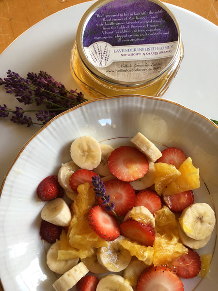 Lavender Honey Fruit Salad
