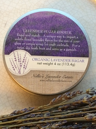 Organic Lavender Sugar Cocktail Rimmer